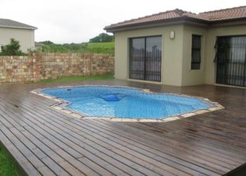 Sparrow Pools completed installation