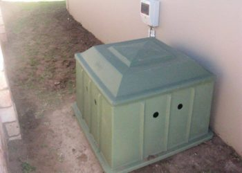 Sparrow Pools pump housing